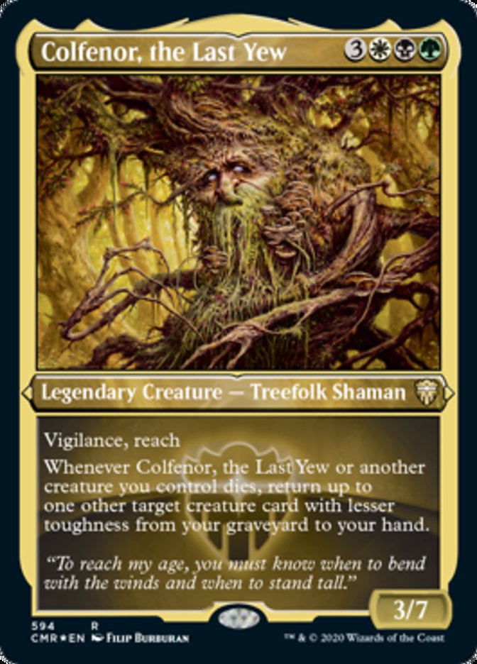 Colfenor, the Last Yew
