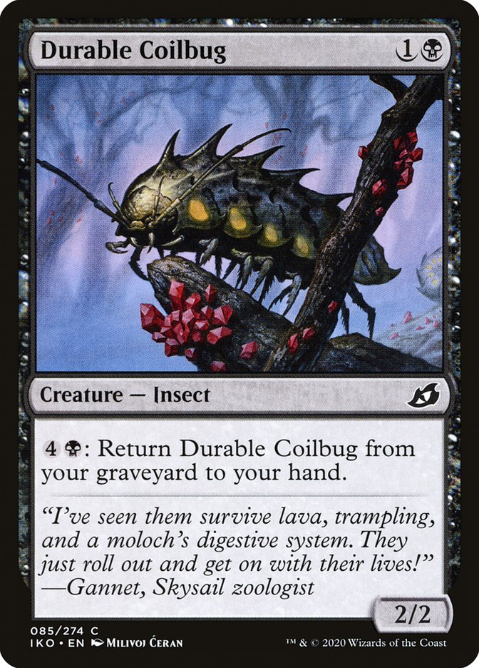Durable Coilbug