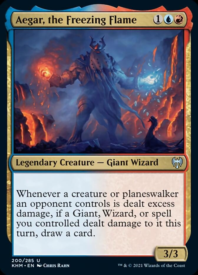 Aegar, the Freezing Flame
