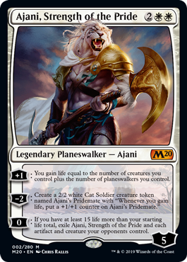 Ajani, Strength of the Pride