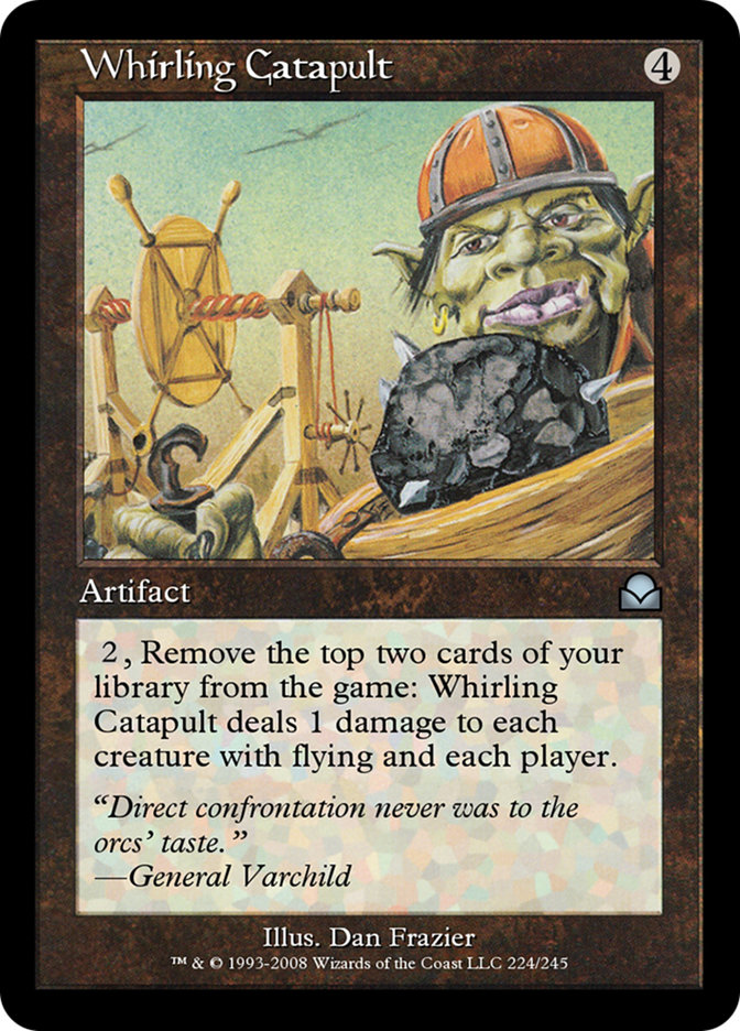 Whirling Catapult