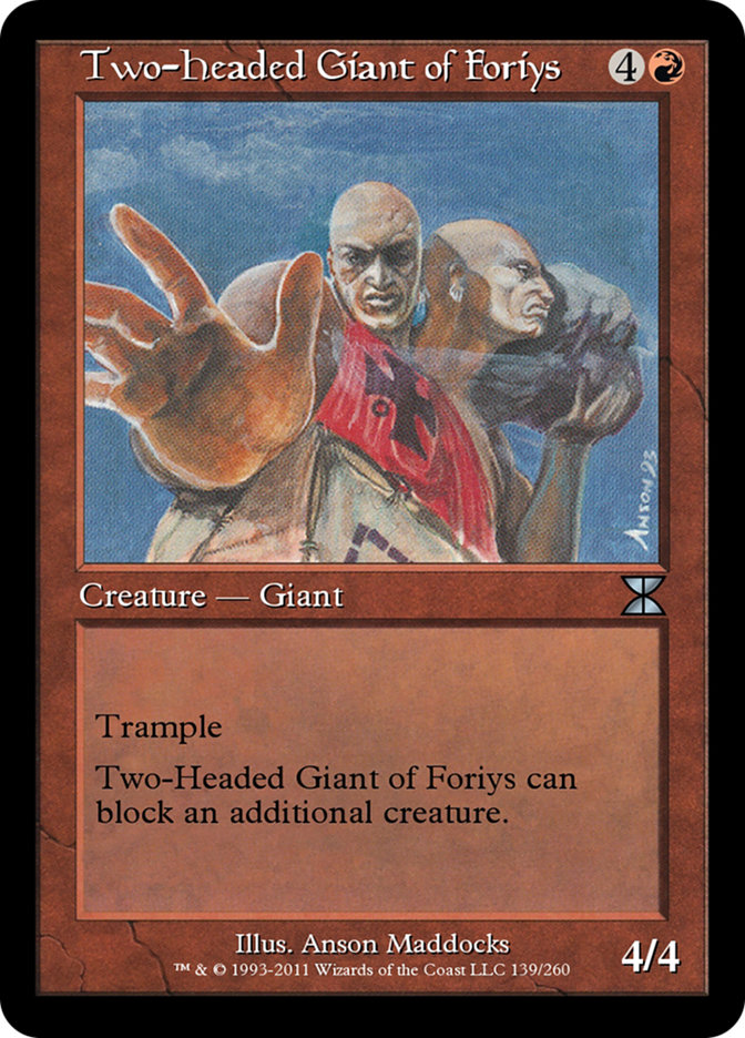 Two-Headed Giant of Foriys