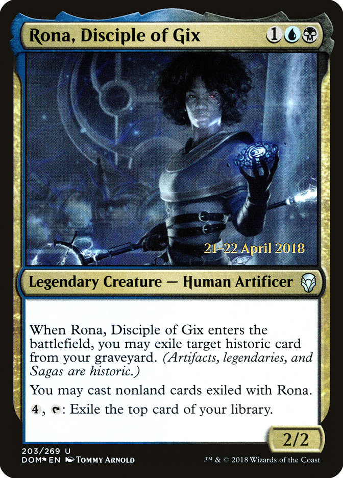 Rona, Disciple of Gix