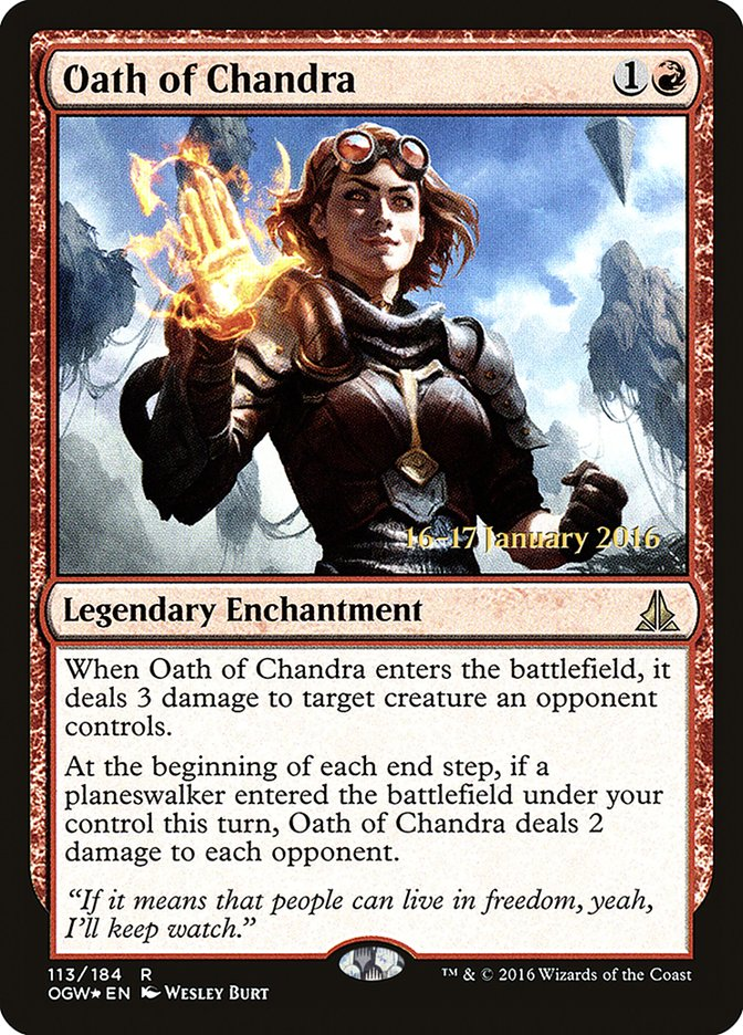 Oath of Chandra