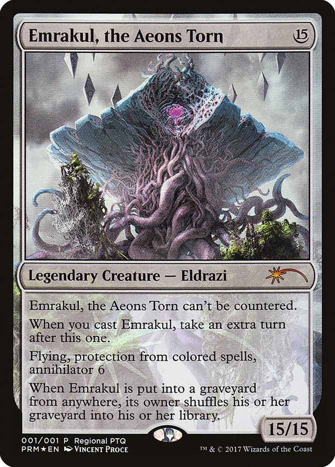 Emrakul, the Aeons Torn