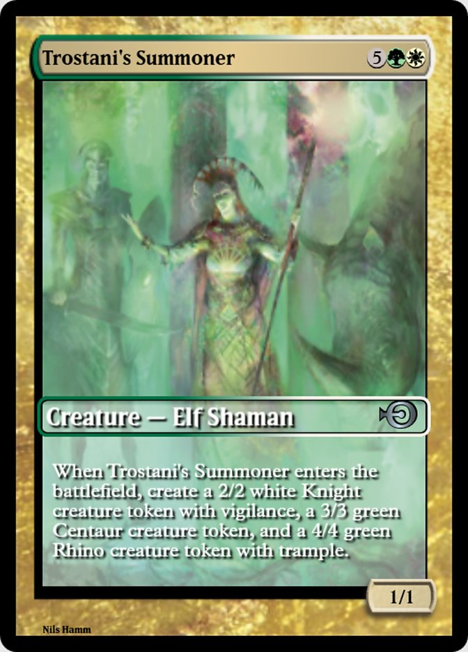 Trostani's Summoner