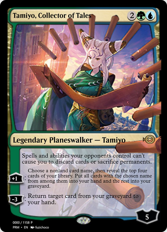 Tamiyo, Collector of Tales