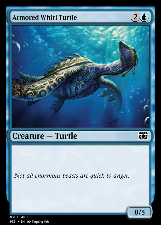 Armored Whirl Turtle