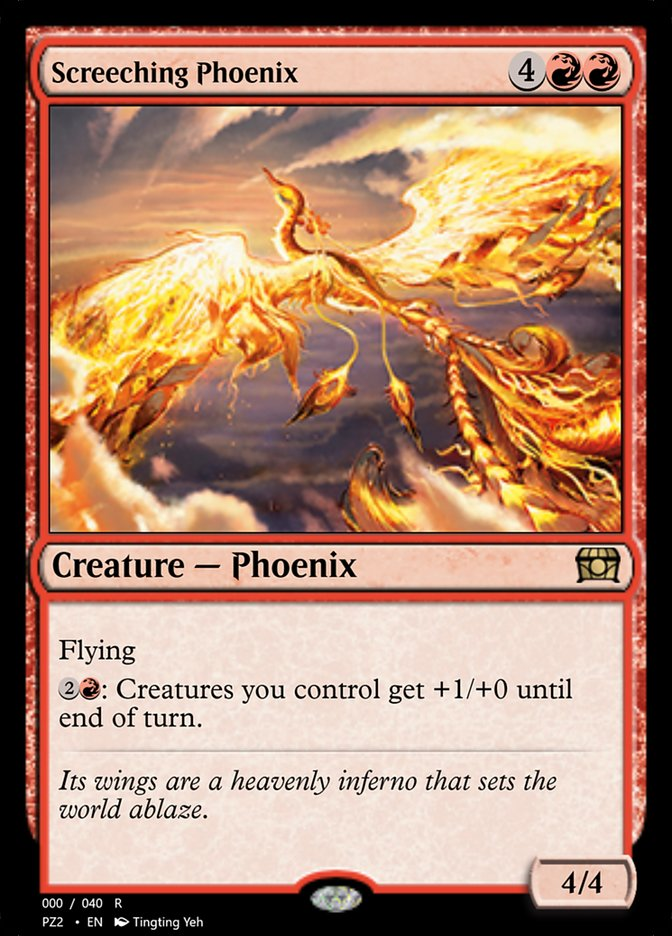 Screeching Phoenix
