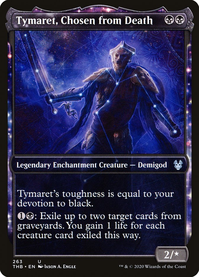 Tymaret, Chosen from Death