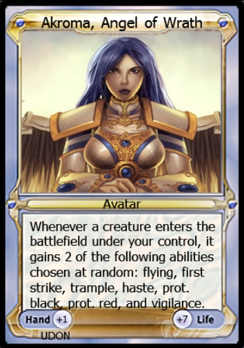 Akroma, Angel of Wrath Avatar