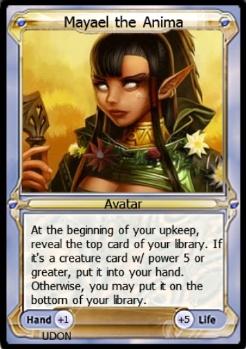 Mayael the Anima Avatar