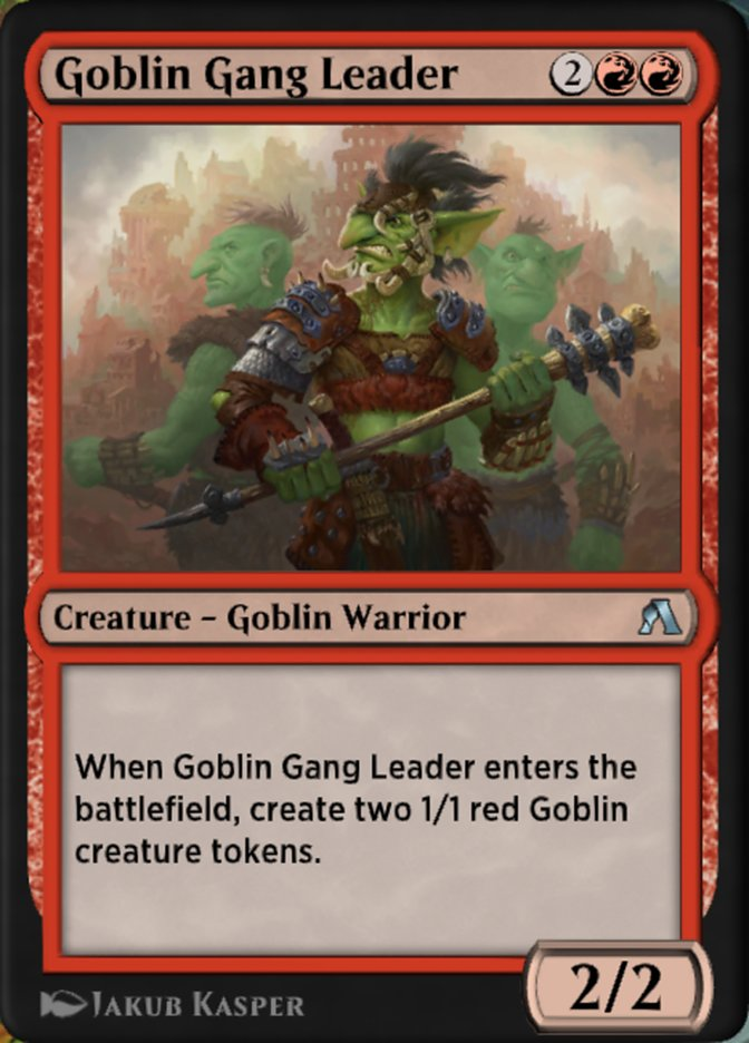Goblin Gang Leader