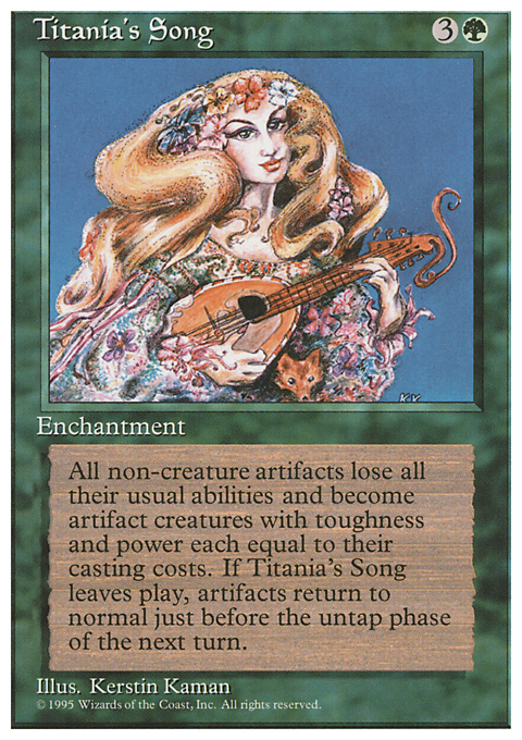 Titania's Song