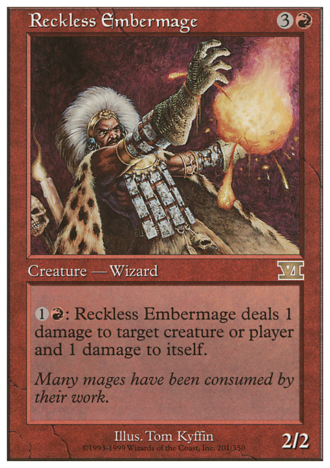 Reckless Embermage
