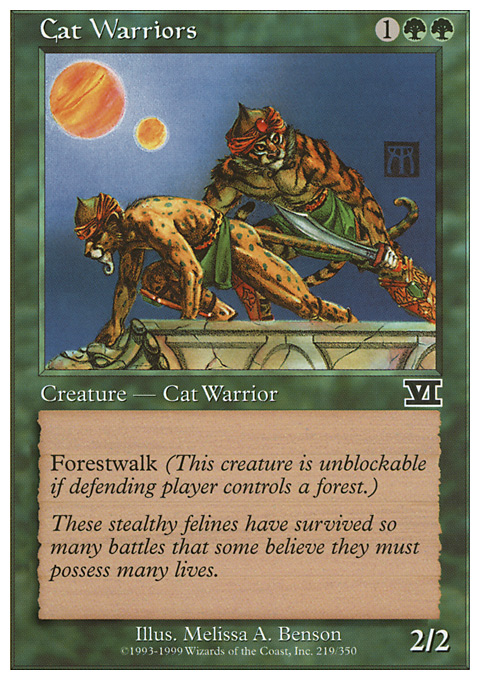 Cat Warriors