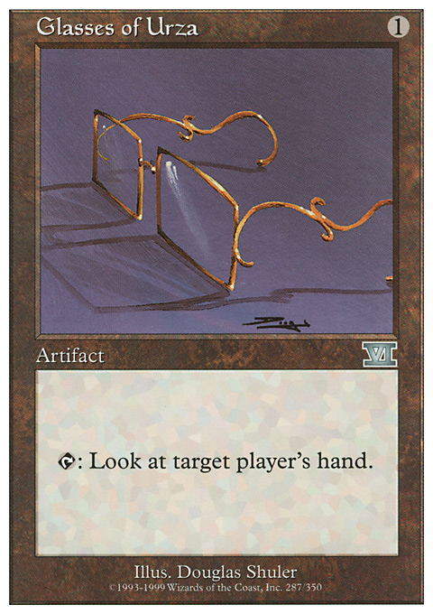 Glasses of Urza