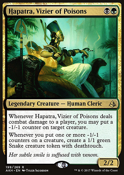Hapatra, Vizier of Poisons
