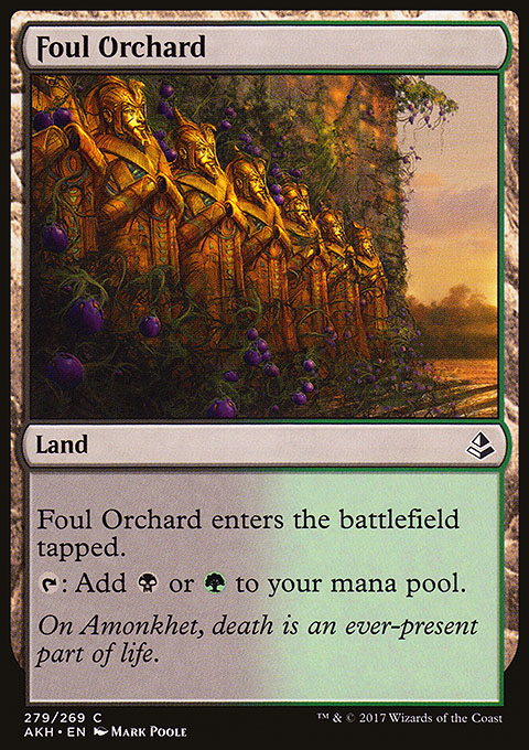 Foul Orchard