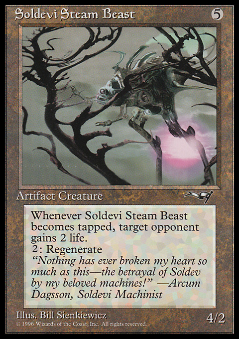Soldevi Steam Beast