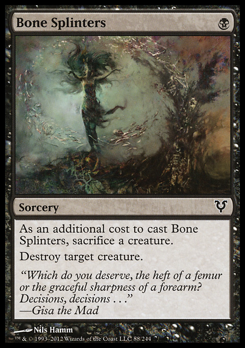 Bone Splinters