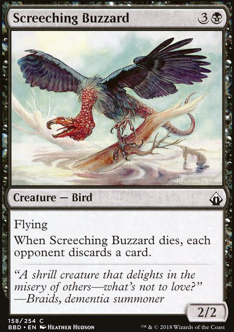 Screeching Buzzard