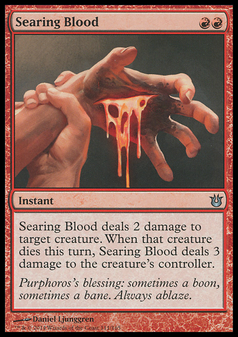 Searing Blood
