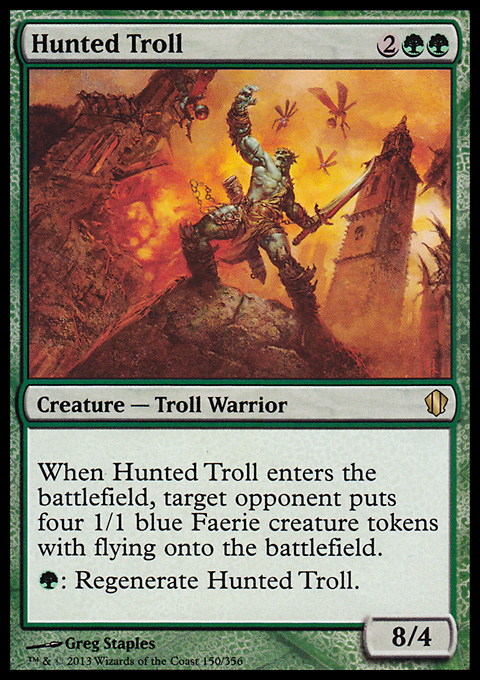Hunted Troll