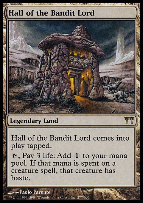 Hall of the Bandit Lord