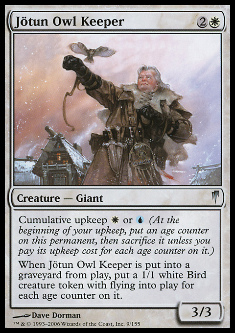 Jötun Owl Keeper