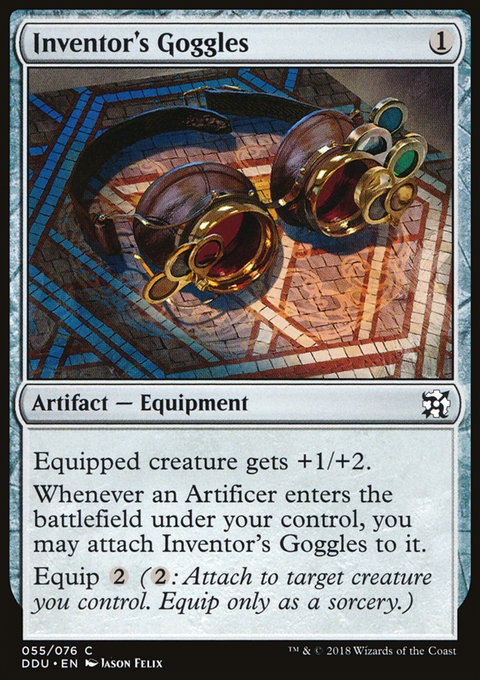 Inventor's Goggles