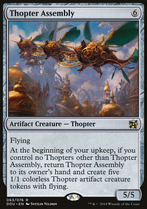 Thopter Assembly