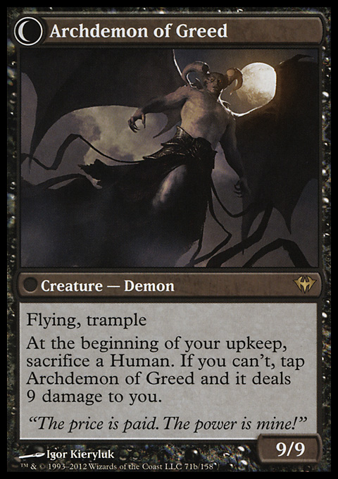 Archdemon of Greed