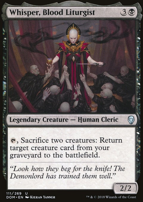 Whisper, Blood Liturgist