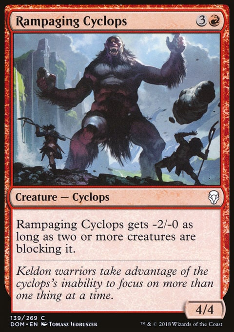 Rampaging Cyclops