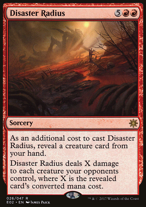 Disaster Radius