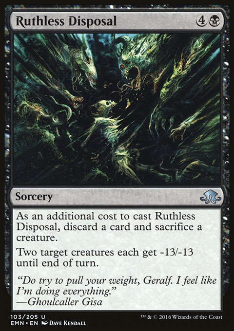 Ruthless Disposal