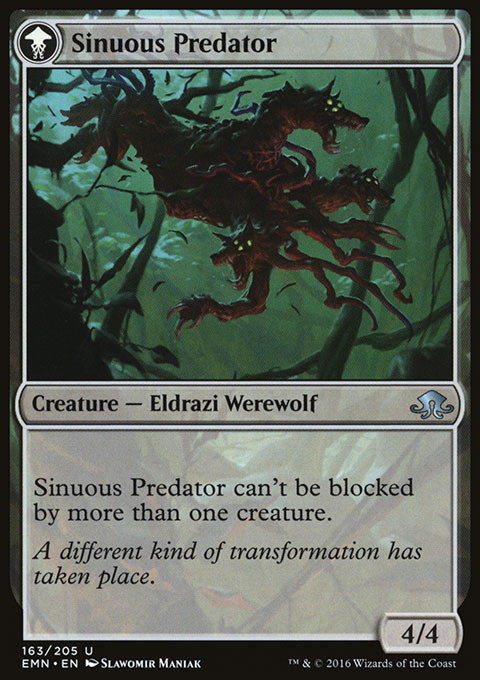 Sinuous Predator