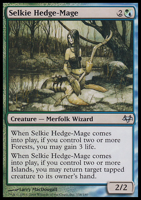Selkie Hedge-Mage