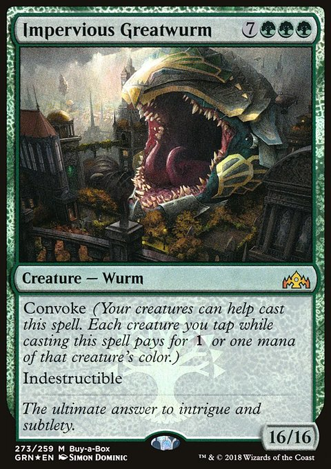 Impervious Greatwurm
