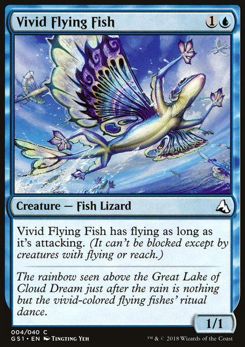 Vivid Flying Fish