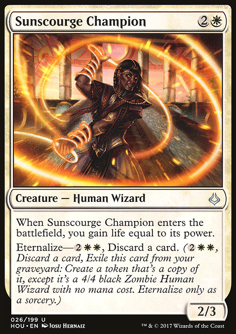 Sunscourge Champion