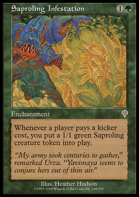 Saproling Infestation
