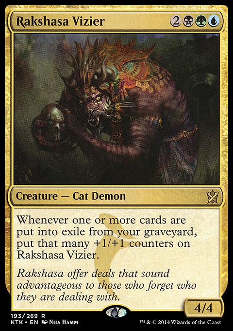 Rakshasa Vizier - mtg wtf