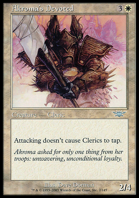 Akroma's Devoted