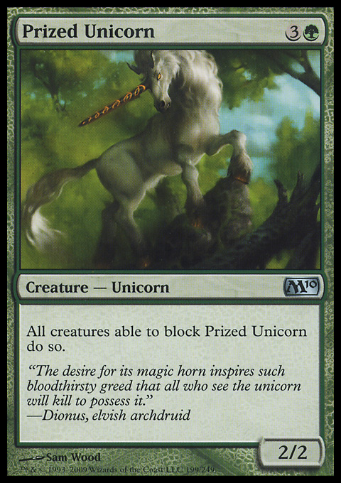 Prized Unicorn