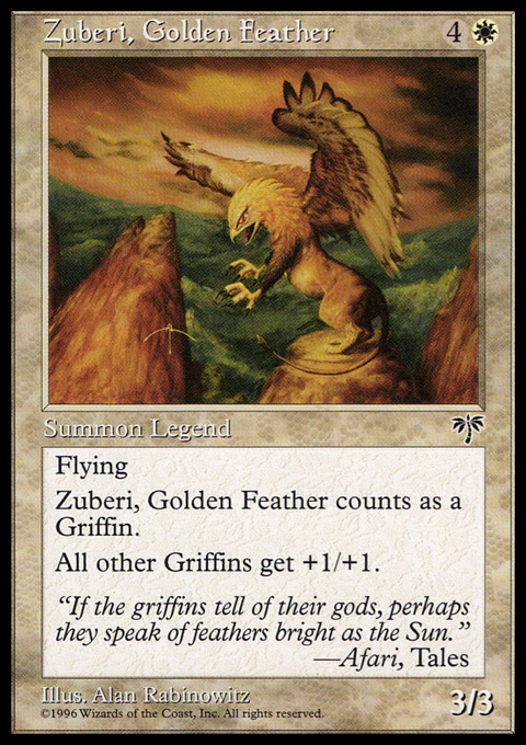 Zuberi, Golden Feather