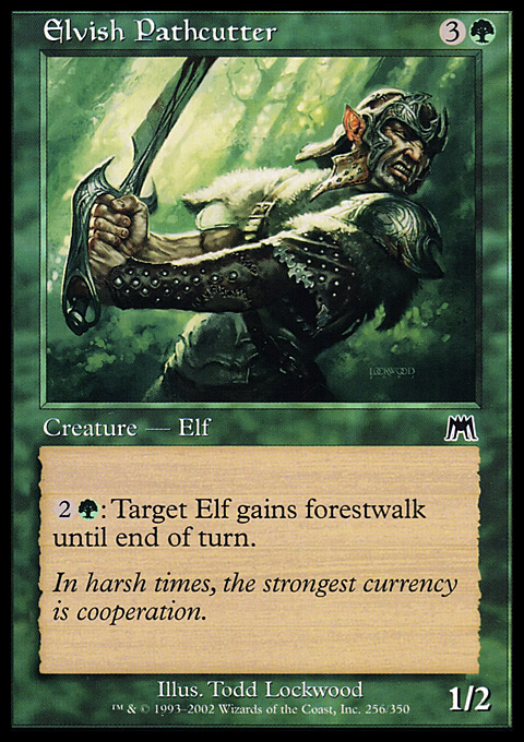 Elvish Pathcutter