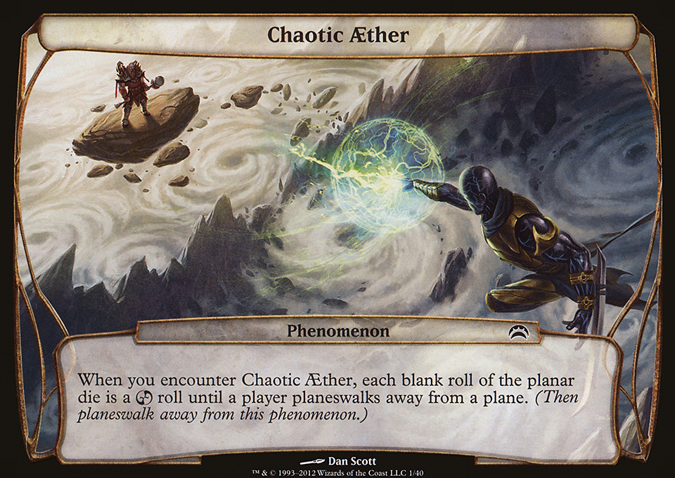 Chaotic Aether