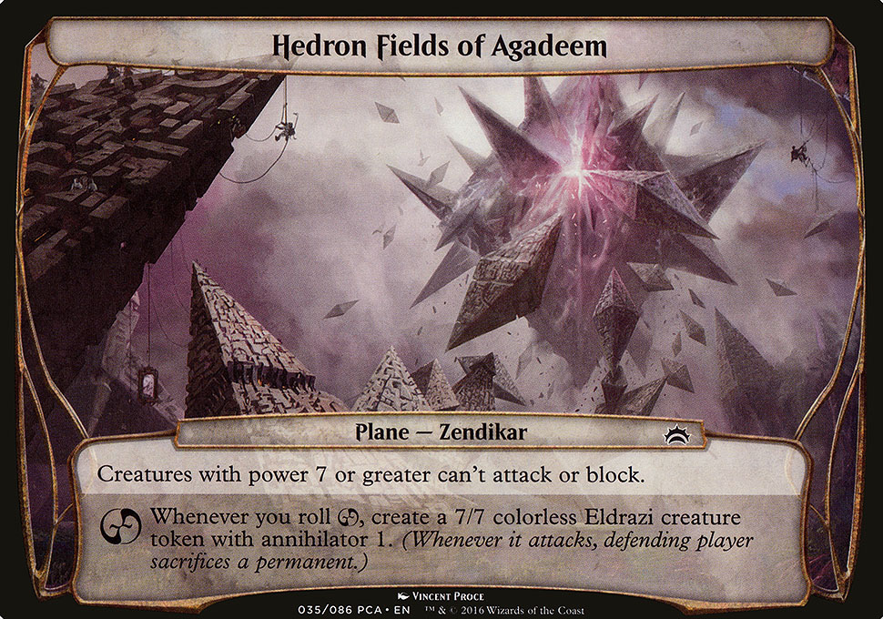 Hedron Fields of Agadeem